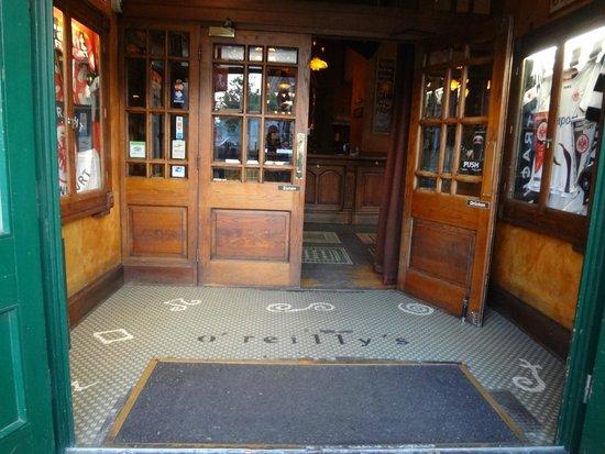O'Reilly's Irish Pub: entrada