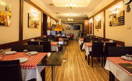 Restaurant Picture Of Grand Hotel Palmiye Istanbul Tripadvisor