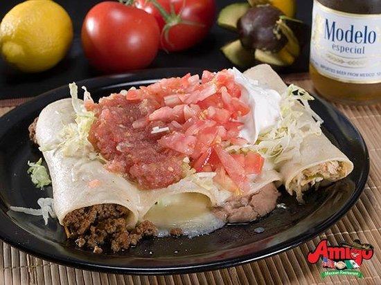Amigo Mexican Restaurant: Enchiladas Supreme