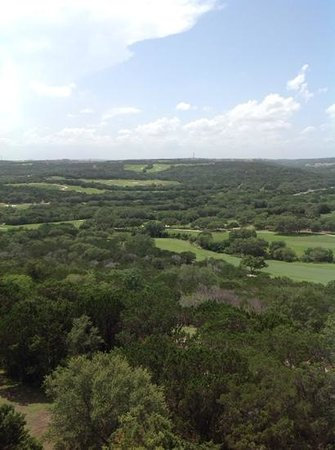 La Cantera Resort & Spa: view from balcony of 7222
