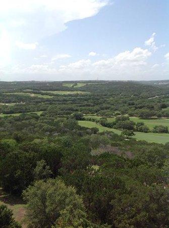La Cantera Resort & Spa: view from balcony of 7222