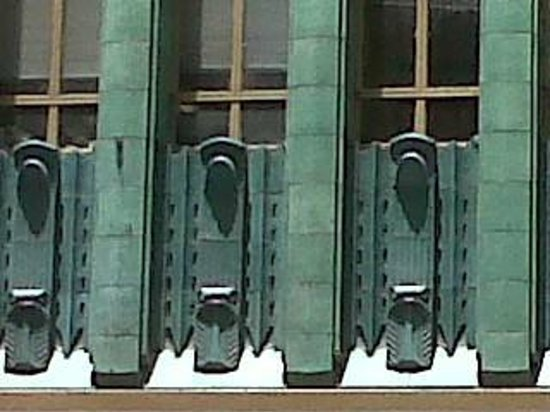 Los Angeles Conservancy Walking Tours: Detail of Los Angeles Jewelry Center (Sun Realty Building) designed by Claud Beelman
