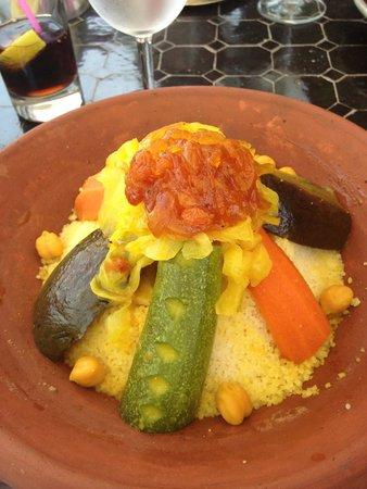 Le Foundouk: Couscous de légumes