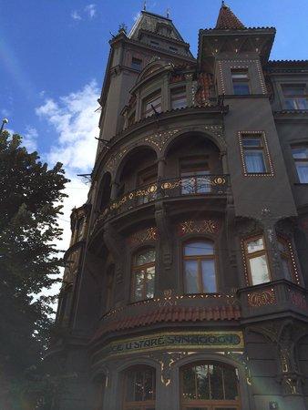 Prager Altstadt: Un hôtel proche de la place de la vieille ville