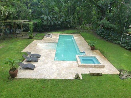 Iguana Lodge: Pool at IL