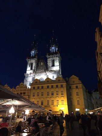 Prager Altstadt: Prague by night
