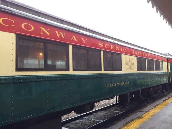 Conway Scenic Railroad: Old fashioned train rides at its best.