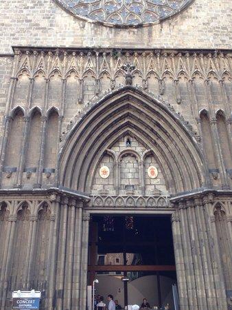 Basilica de Santa Maria del Pi: Базилика 2014