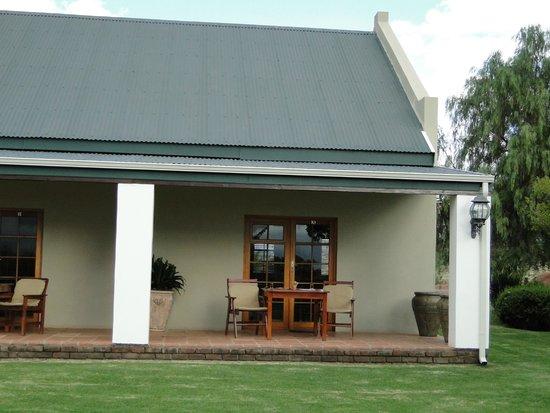 Mooiplaas Guesthouse : outside