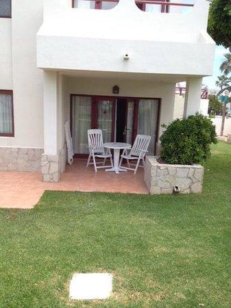 Suite Hotel Atlantis Fuerteventura Resort: Terrasse de la suite
