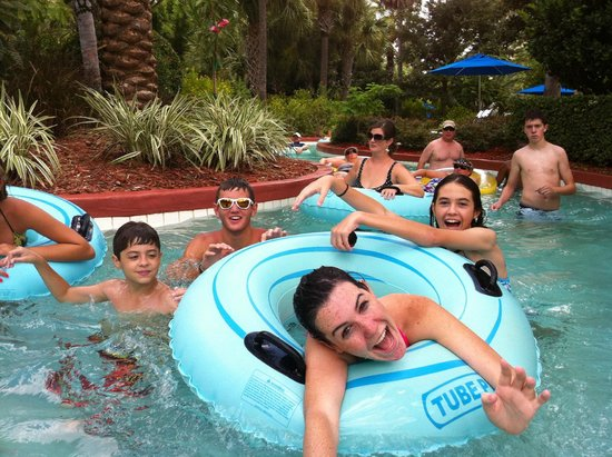 "Omni Orlando Resort at Championsgate: Omni's ""Crazy"" River isn't so lazy!"