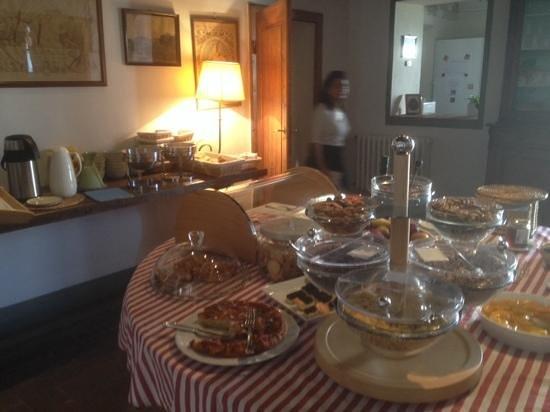 Fattoria e Villa di Rignana: breakfast was amazing!