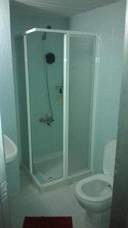 Kaan Apart: shower room/toilet