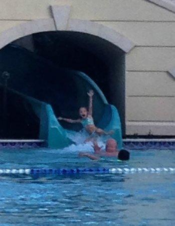 Parc Soleil by Hilton Grand Vacations: Slides