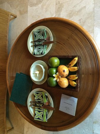 The Oberoi Bali : Daily fruit delivery
