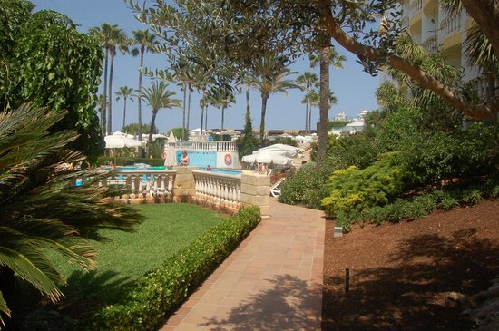 IBEROSTAR Albufera Playa: Gardens and pool