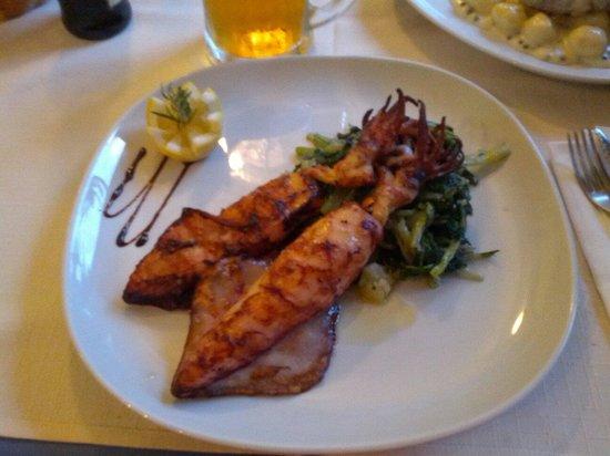 Restaurant Siesta : Calamarie vom Grill