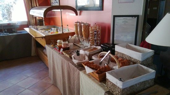Best Western Aurelia : breakfast bar