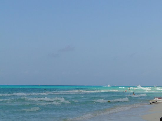 Hotel Riu Palace Riviera Maya: Beautiful Beach