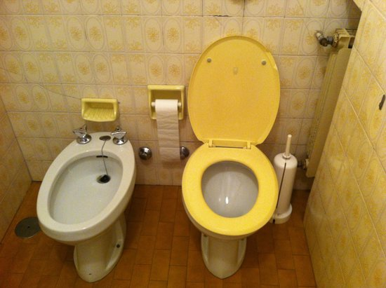 Albergo Milano: Il bagno