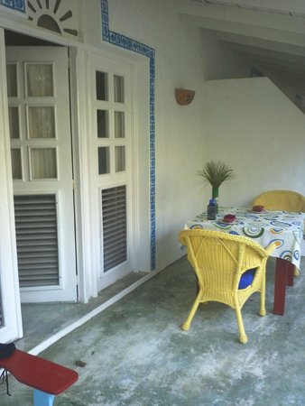 Cabarete Surfcamp: Balcony of the studio