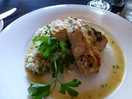Forget About It Supper Club : Stuffed Chicken on Prix Fixe