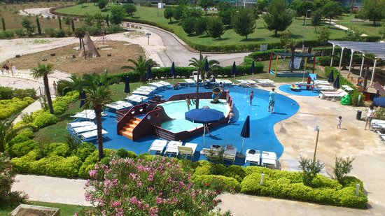 Falkensteiner Family Hotel Diadora : From room terrace