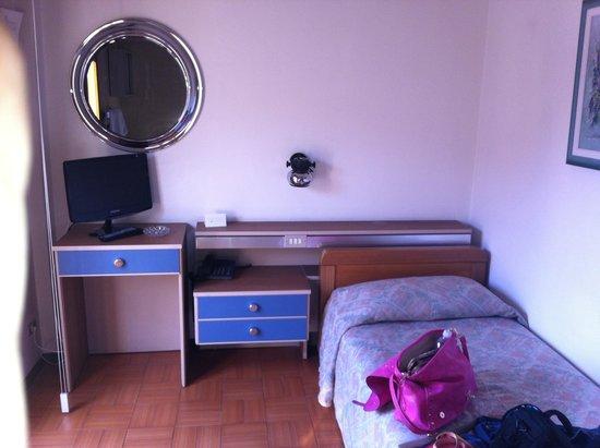 Albergo Milano: La camera