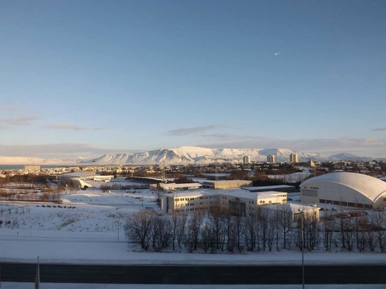 Reykjavik Lights by Keahotels: View from our room