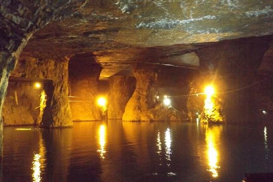 Bonne Terre Mine Tours - West End Diving: In the mine
