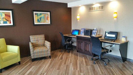 Best Western Truman Inn: Business Center