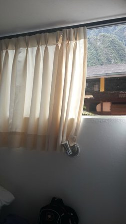 Ecopackers Machupicchu: Ventana (necesita mosquitero)