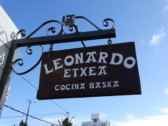 Leonardo Etxea : Placa