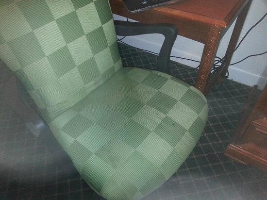 Monticello Motel: Filthy Chair