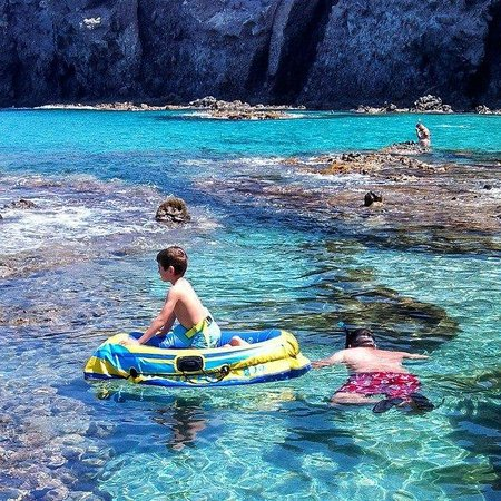 Playa de los Muertos : The transparent water!