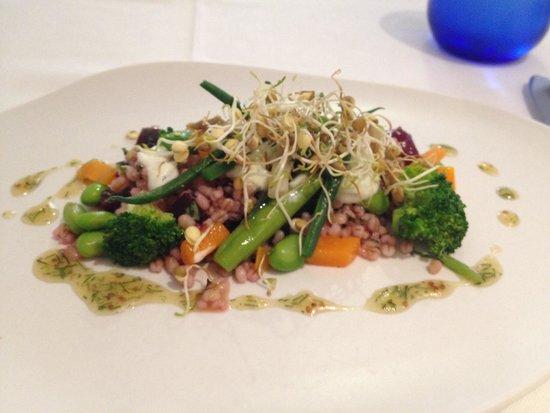 Seu Xerea: Barley/beet salad