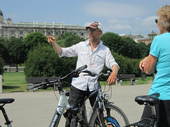 Pedal Power Bike and Segway: Horst, the tour guide