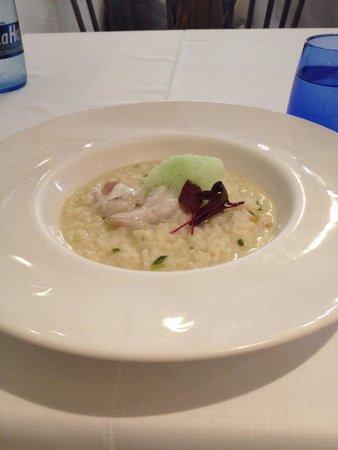 Seu Xerea: Coconut & lemongrass risotto w/ cod