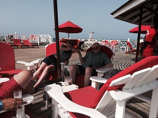 Royal Decameron Club Caribbean : jetty bar