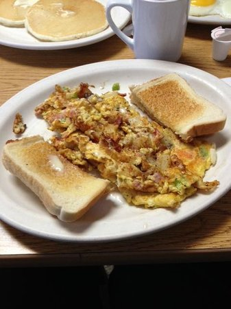The Why Coffee Shop: My breakfast. I love the toast!