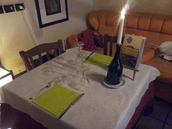 La tavola apparecchiata picture of hosteria volante bagno di romagna tripadvisor - Trattoria del roma bagno di romagna ...