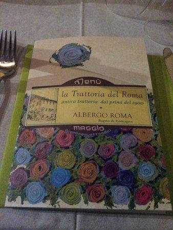 il menù - Foto di Hosteria Volante, Bagno di Romagna - TripAdvisor