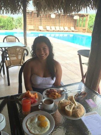 Vichayito Bungalows & Carpas by Aranwa: Desayuno