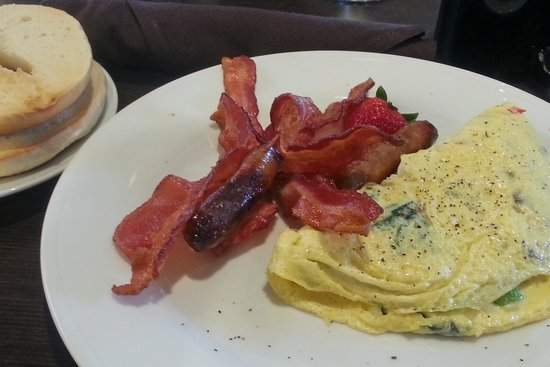 Hilton Garden Inn Pittsburgh/Cranberry: A Nice Healthful Omelette - All You Want