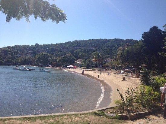 Ossos Beach: Chegada na Praia dos Ossos (acesso pela igreja).