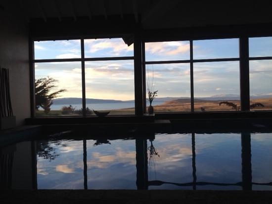 Alto Calafate Hotel Patagonico: vista da piscina