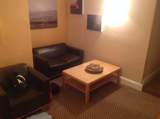 Forest Pines Hotel & Golf Resort - A QHotel: sitting area in my room!
