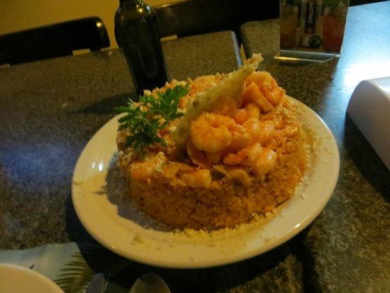 Beach Stop Restaurante & Bar : Shrimp Risotto