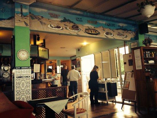 Bungalows Vista Oasis Apartments: The bar/restaurant.