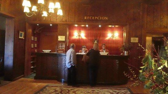 Llao Llao Hotel and Resort, Golf-Spa: Recepcion